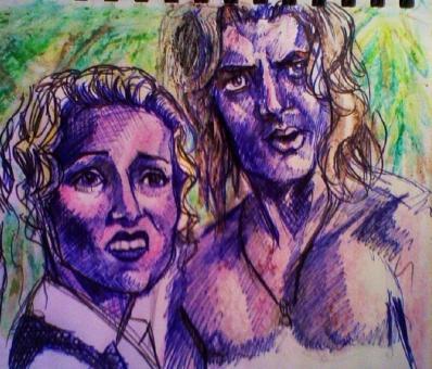 George de la Jungla (Leslie Mann y Brendan Fraser)